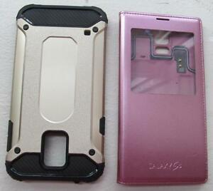 GALAXY S5 CASE, SVIEW AND ORIGINAL BATTERY