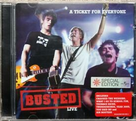 Busted Live - A Ticket for Everyone Special Edition Audio CD