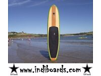 BRAND NEW STAND UP PADDLE BOARD 11'6/10'6/9'6 (HARD BOARD) GREEN RAIL PACKAGE WITH PADDLE/BAG/LEASH