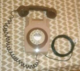 Gpo 741 wall telephone