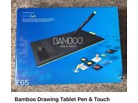 Bamboo Drawing Tablet Pen & Touch