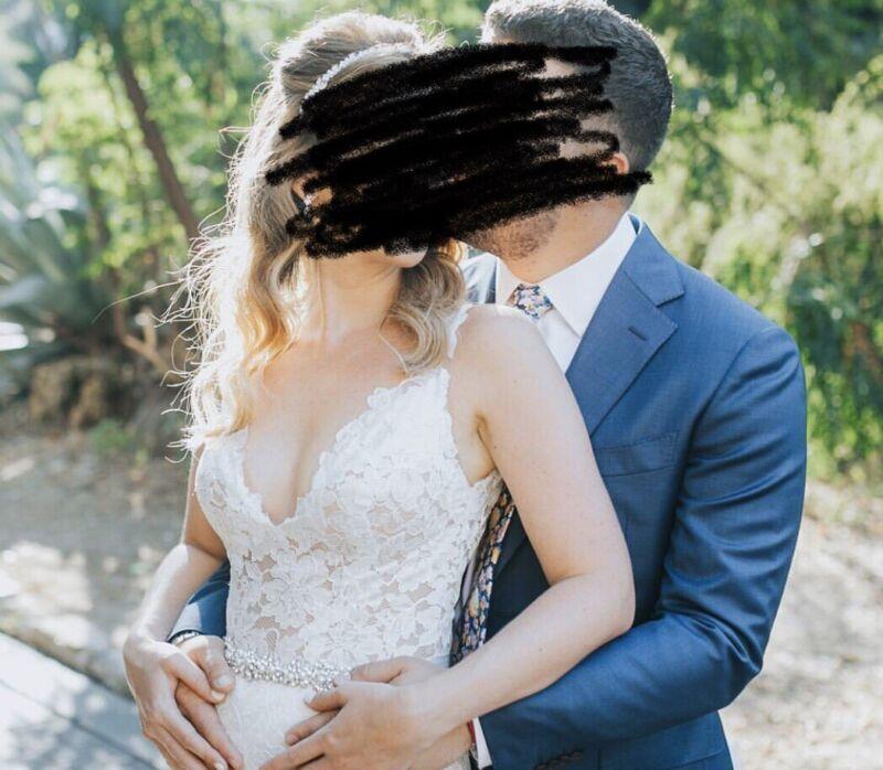 Paloma Blanca Wedding dress 4746