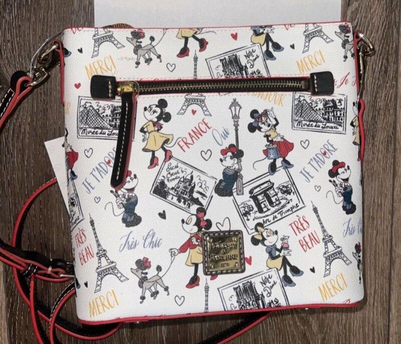 NWT Disney Parks Dooney & Bourke Minnie Mouse Chic Crossbody Bag Purse