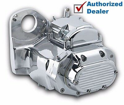 Ultima Polished & Chrome 6-Speed Transmission Trans Evolution Evo Harley Softail