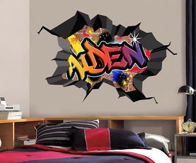 Wc Decor (Graffiti PERSONALIZED NAME Decal WALL STICKER Home Decor Art Mural Kids)