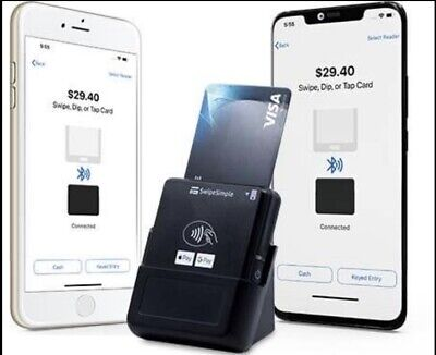 New Swipe Simple B250 Credit Card Reader Stand Not Included