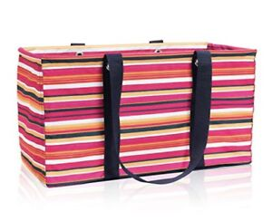 Thirty one Large Utility Tote, NEW in package. Stripes