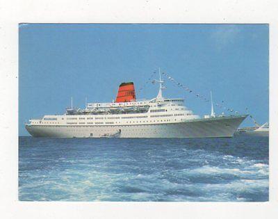 Cunard NPC Vistafjord Shipping Postcard 706a