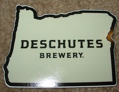 DESCHUTES BREWERY Oregon State LOGO STICKER decal craft beer brewing ABYSS