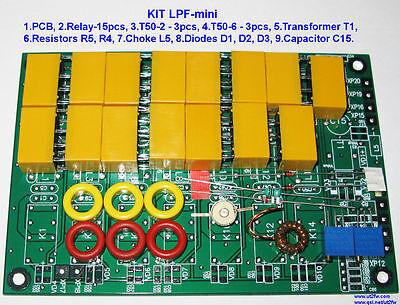 - LPF KIT 200W HF power amplifier 2SC2879 FT-817 Elekraft 2SC2290 RD16HHF1