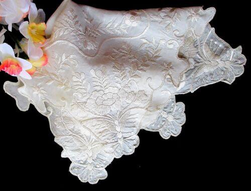 Antique Hand-Embroidered Silk Bride