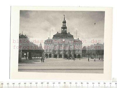 Paul W. JOHN fotografiert: LÜNEBURG RATHAUS  1925/30 VINTAGE