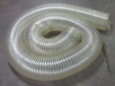 No Name 10 Diameter Clear See Through Flexible Duct Tube Hose 21 In Length