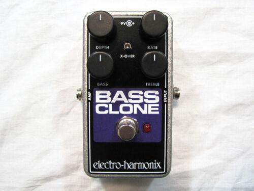 Used Electro-Harmonix EHX Bass Clone Bass Chorus Effects Pedal