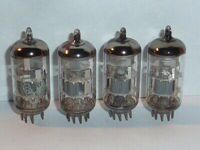 Amperex ECC88 6DJ8 Bugle Boy Tubes, Matched Quad, Tested for sale  Shipping to South Africa