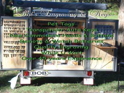 Mobile Engraving & Key Cutting. Karuah Port Stephens Area Preview