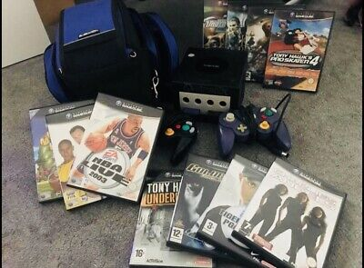 Nintendo Gamecube Rare & Vintage With 12 Games And A Case 1 Day Listing!!!!!!