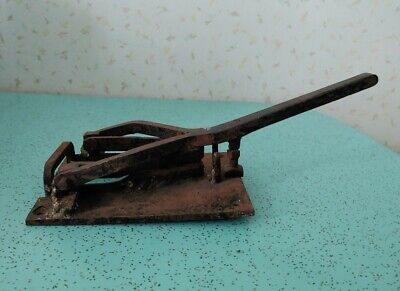 Antique Electrical Knife Blade Disconnect Switch Industrial Steampunk