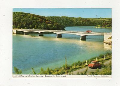 New Bridge Over River Blackwater Youghal Co Cork Ireland 1969 Postcard 886a