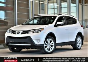 2014 Toyota RAV4 Limited GPS! BACK UP CAMERA! HEATED SEATS! SIÈG