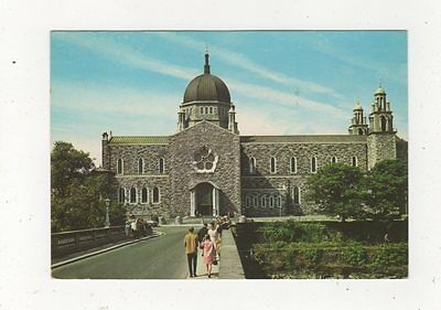 Cathedral Of Our Lady & St Nicholas Galway 1974 Ireland Postcard 911a