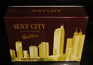 Womens-Perfume-Sexy-City-034-Guiltless-034-Natural-Spray-Eau-De-Parfum-Vaporisateur