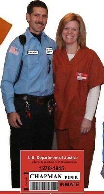 Couples Costume ORANGE IS NEW BLACK MENDEZ & CHAPMAN Prisoner Cosplay Halloween - Couple Cosplay Costumes