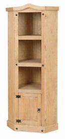 New SOLID Corona Pine 6ft Corner display bookcase AVAILABLE TODAY