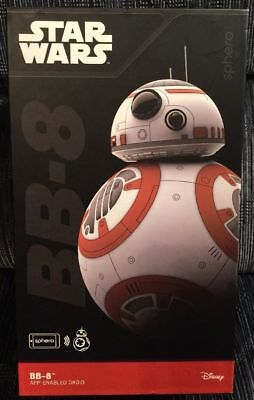 Star Wars The Force Awakens Bb 8 By Sphero App Enabled Droid  Brand New Sealed