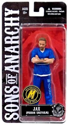 Sons Of Anarchy Outfits (Sons of Anarchy Jax Teller Exclusive Action Figure [Blue Prison)