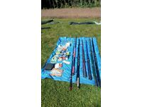 Sea fishing - selection of rods