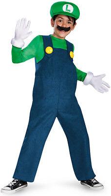Kostüm Luigi für Kinder - hochwertig - Hochwertige Kinder Kostüm