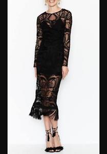 Alice McCall Tattoo lady dress Black 8 Tugun Gold Coast South Preview
