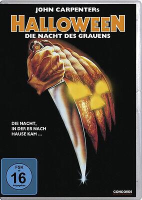 HALLOWEEN 1 Das Original DIE NACHT DES GRAUENS Jamie Lee Curtis D. PLEASENCE DVD