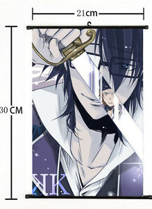 Hot Japan Anime K Project Art Cosplay Poster Wall Scroll Home Decor 21*30CM