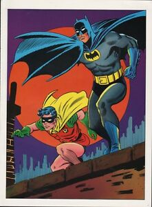 Vintage-1978-BATMAN-ROBIN-Pin-up-Poster-DC-Comics