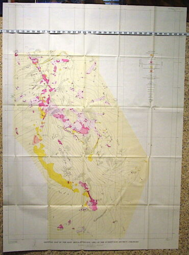USGS SUMMITVILLE, COLORADO GEOLOGY & ORE DEPOSITS Large Report WITH ORIG MAPS!
