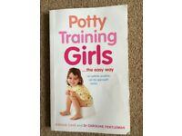 'Potty Training Girls... the easy way' Book - Simone Cave & Dr Caroline Fertleman - £2