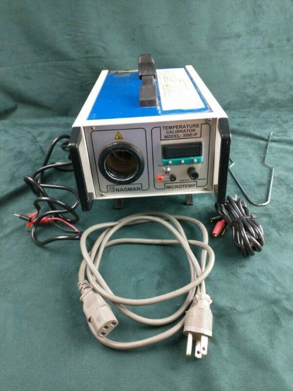 Nagman Industrial Temperature Regulator Model 350 E-P Tested Working