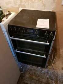 **BELLING**ELECTRIC COOKER**60CM**DOUBLE OVEN**CERAMIC**COLLECTION\DELIVERY**NO OFFERS**