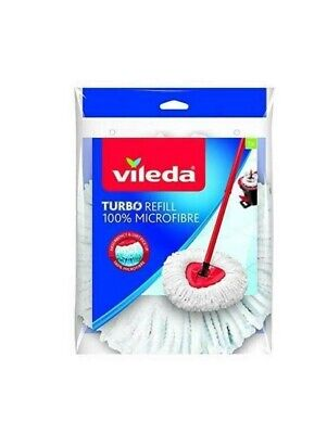 VILEDA Ricambio Turbo Smart Mocio Panno Lavapavimenti in Microfibra