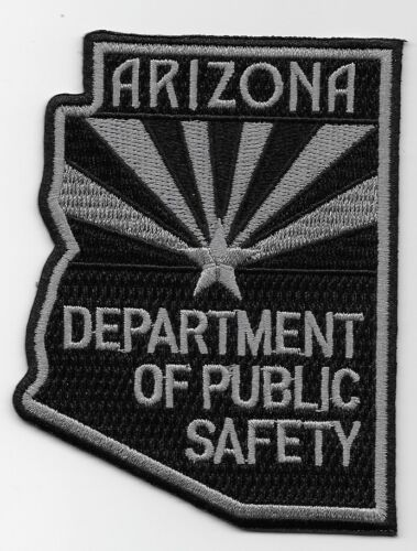 SWAT SRT Subdued Arizona Hwy Patrol State Police patch State Shaped