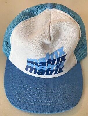 Matrix Hat (Vintage Matrix Snapback Hat)
