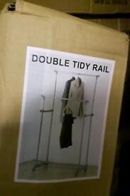 Double tidy rail