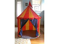 IKEA KID'S CIRCUS TENT. EXCELLENT CONDITION