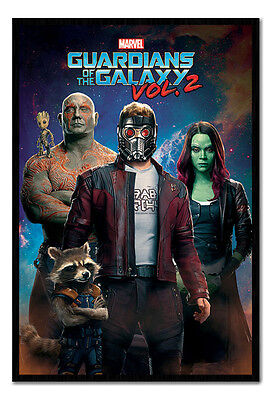 Framed Guardians Of The Galaxy Vol 2 Characters In Space (Characters In Guardians Of The Galaxy 2)