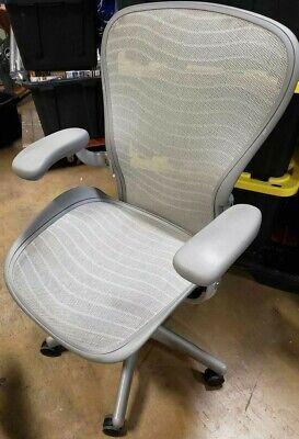 Herman Miller Aeron Office Chair - Silver - Size C