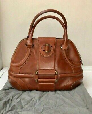 Vintage Alexander McQueen Small Brown Novak Handbag - Calf Leather