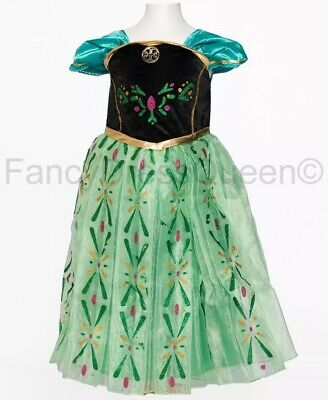 Anna Coronation Costume Girls Frozen Fancy Dress Age 10-12 - Coronation Anna Kostüm