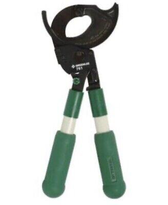 Greenlee 761 Ratchet Wire Cutter Brand New